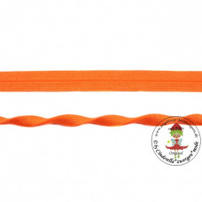 Falzgummi ♦ JACQUARD ♦ Orange 20 mm