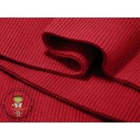 Ripp-Bündchen*Rot