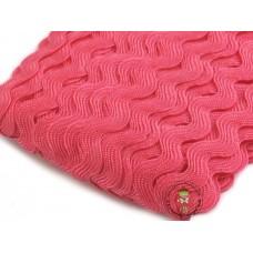 Zackenlitze Pink 9 mm
