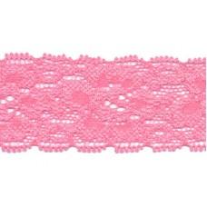 Elastische Spitzenborte*30 mm*Rosa