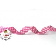 Karo Schrägband Pink