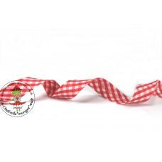 Karo Schrägband Rot