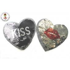 Herz*Kiss, Wende Pailetten Patch