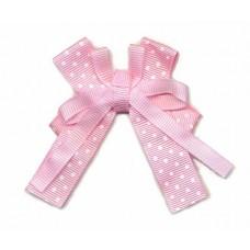 Schleife Polkadot rosa