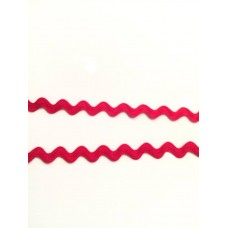 Zackenlitze rot 10 mm