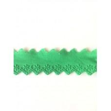 Bordüre 35 mm*grün*Baumwolle