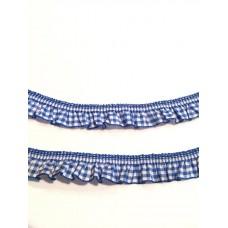 Vichy Rüsche blau