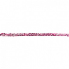 Gedrehte Kordel Deluxe * Fuchsia Multicolor * 8 mm