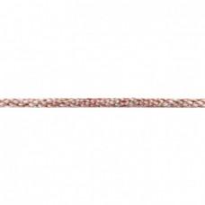 Gedrehte Kordel Deluxe * Rosa Multicolor * 8 mm