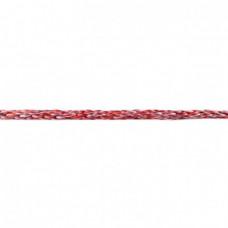 Gedrehte Kordel Deluxe * Rot Multicolor * 8 mm