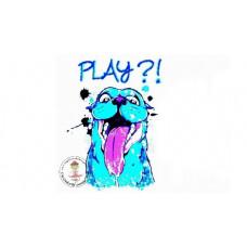 Play?! Bügelbild
