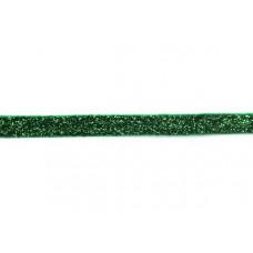 Glitzerband Grün 10 mm