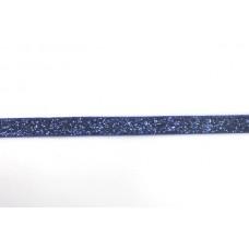 Glitzerband Blau 10 mm