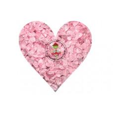 Mini Satin Schleife Rosa, 5 Stück