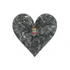 Mini Satin Schleife Schwarz, 5 Stück