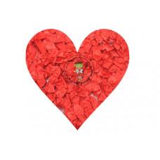 Mini Satin Schleife Rot, 5 Stück