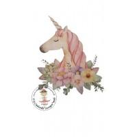 Unicorn Bügelbild