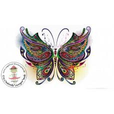 Schmetterling Bügelbild