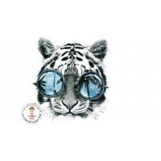 Cool Tiger Bügelbild