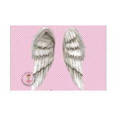 Flügel Bügelbild