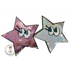 Looking STAR*Wende Pailetten Patch