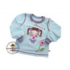 Shirt Marie Gr. 92 Ringeljersey Mint*Yoyo YogaSchön