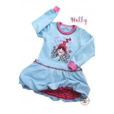 Kleidchen Holly Gr. 104 * Hellblau