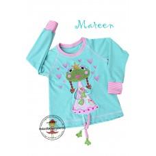 Shirt Mareen Gr. 98~104 * Mint Froggy