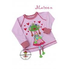 Shirt Mareen Gr. 98~104 * Rosa Froggy