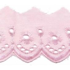 Wäschespitze Bordüre 50 mm*rosa