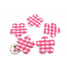 Vichy Blume *Pink*5 Stück
