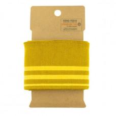Cuff gestreift * Ocker*Gelb