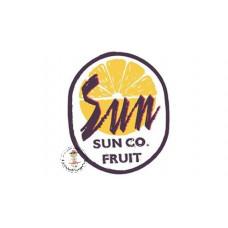 Sun Fruit Bügelbild