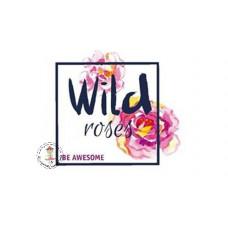 Wild Roses Bügelbild