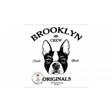 Brooklyn Dog Bügelbild