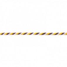 Kordel  3-farbig*Gelb*Weiß*Schoko