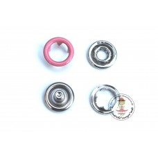 Jersey Druckknöpfe 9 mm * Rosa