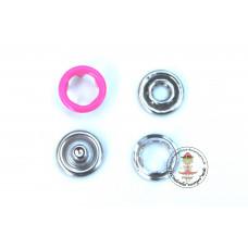 Jersey Druckknöpfe 9 mm * Pink