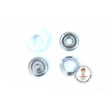 Jersey Druckknöpfe 9 mm * Weiß