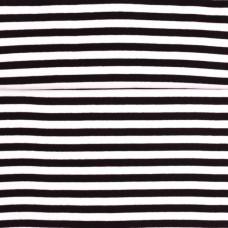 Ringelbündchen ♥ Schwarz * Weiß