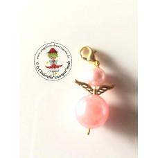 Schutzengel rosa-gold