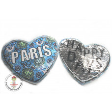 Herz*Paris Wende Pailetten Patch