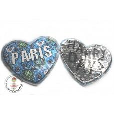 Herz*Paris Wende Pailetten Patch