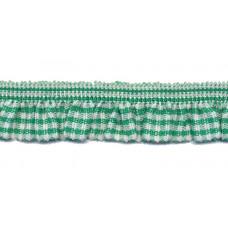 Vichy Rüsche grün