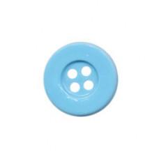 Knopf Blau 15 mm*8 Stück