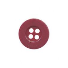 Knopf Bordeaux 15 mm*8 Stück