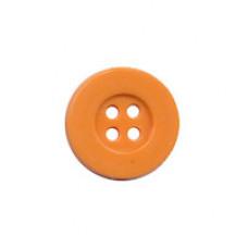 Knopf Orange 15 mm*8 Stück