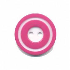 Donut Knopf Pink 20 mm*2 Stück