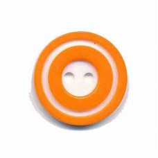 Donut Knopf Orange 20 mm*2 Stück