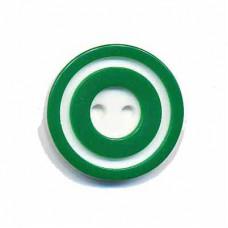 Donut Knopf Grün 20 mm*2 Stück